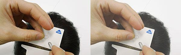 結んで髪を増やす増毛技術